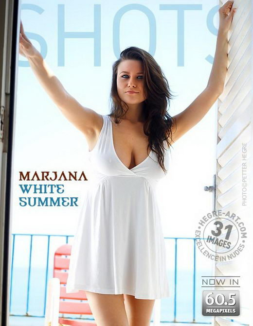 Marjana - `White Summer` - by Petter Hegre for HEGRE-ART