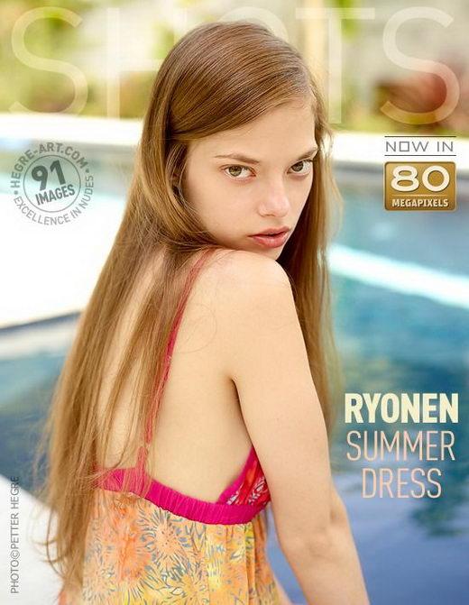 Ryonen - `Summer Dress` - by Petter Hegre for HEGRE-ART