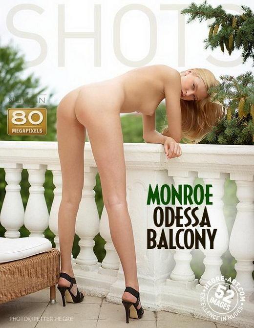 Monroe in Odessa Balcony gallery from HEGRE-ART by Petter Hegre