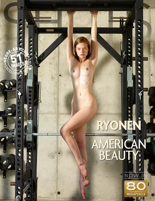 Ryonen - `American Beauty` - by Petter Hegre for HEGRE-ART
