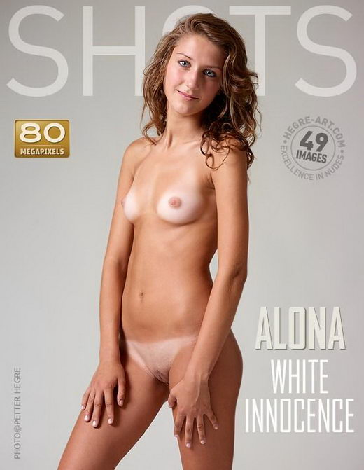 Alona - `White Innocence` - by Petter Hegre for HEGRE-ART