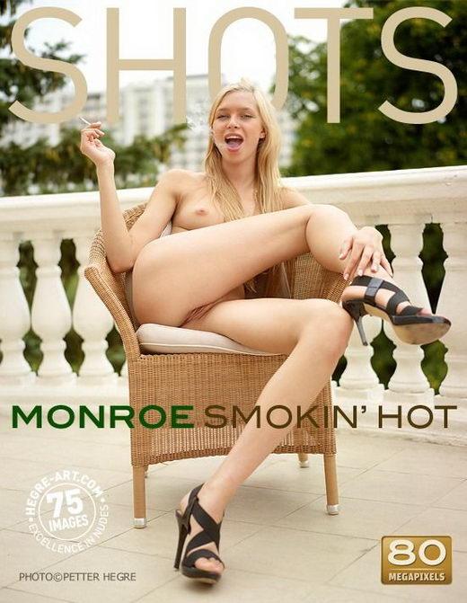 Monroe - `Smokin Hot` - by Petter Hegre for HEGRE-ART