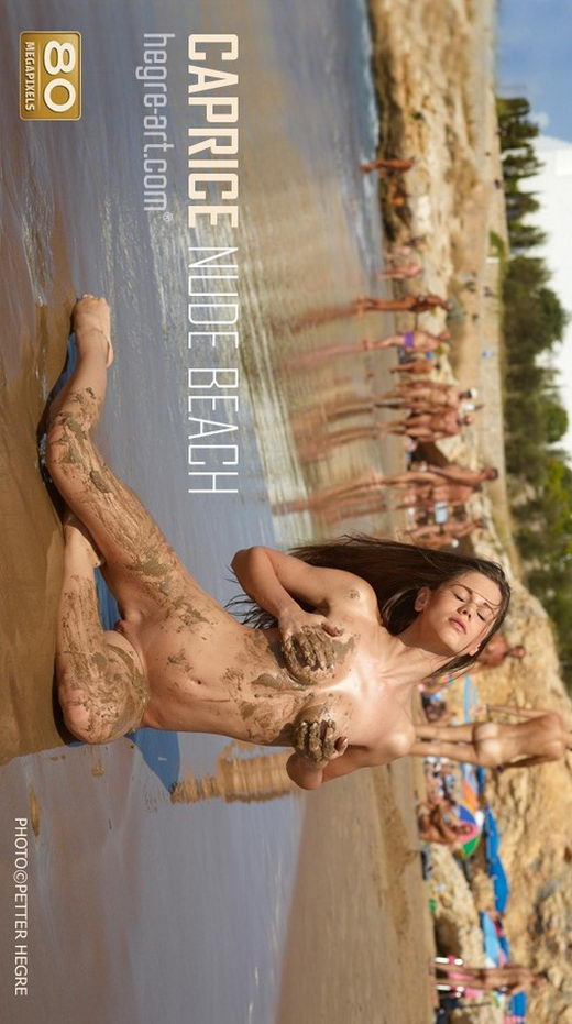 Caprice - `Nude Beach` - by Petter Hegre for HEGRE-ART