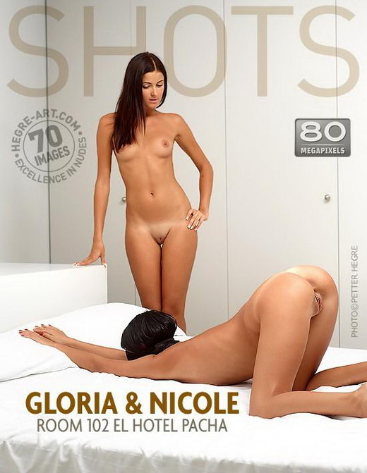 Gloria & Nicole - `Room 102 El Hotel Pacha` - by Petter Hegre for HEGRE-ART