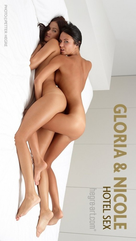 Gloria & Nicole - `Hotel Sex` - by Petter Hegre for HEGRE-ART