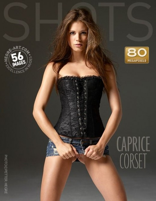 Caprice - `Corset` - by Petter Hegre for HEGRE-ART