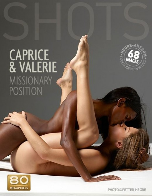 Caprice & Valerie - `Missionary Position` - by Petter Hegre for HEGRE-ART