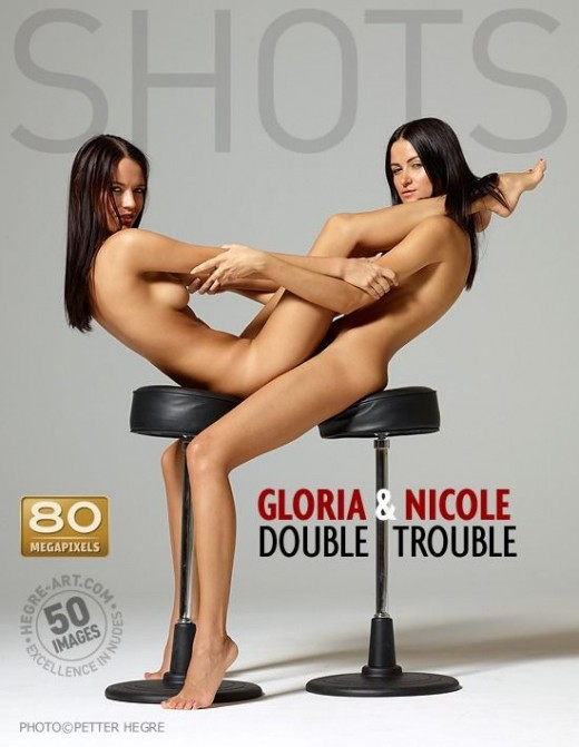 Gloria & Nicole - `Double Trouble` - by Petter Hegre for HEGRE-ART