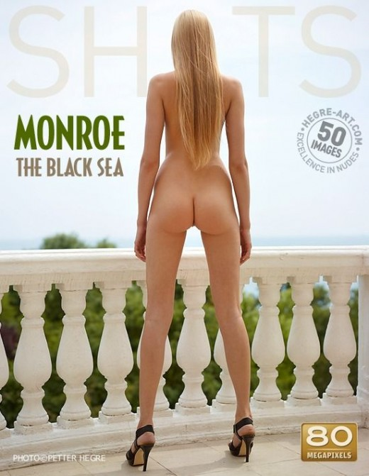 Monroe - `The Black Sea` - by Petter Hegre for HEGRE-ART