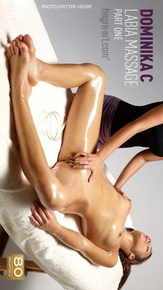 Dominika C - `Labia Massage - Part 1` - by Petter Hegre for HEGRE-ART