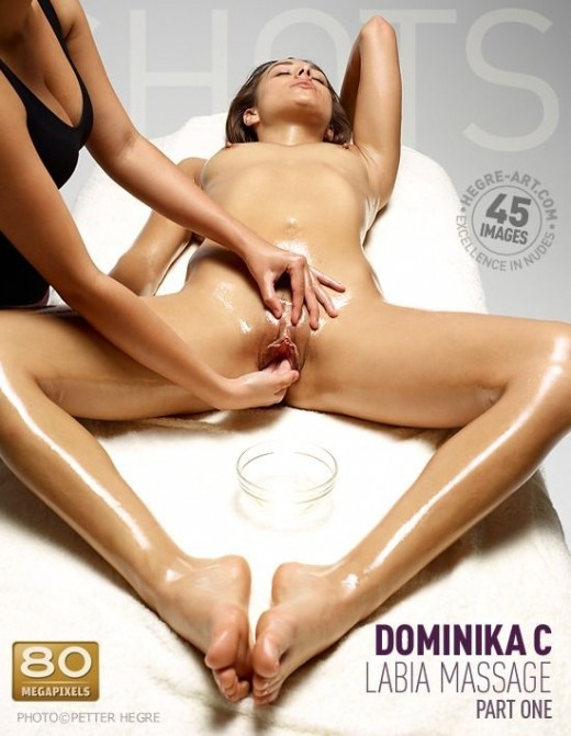 Dominika C - `Labia Massage - Part 1` - by Petter Hegre for HEGRE-ART