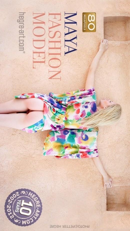 Maya - `Fashion Model` - by Petter Hegre for HEGRE-ART