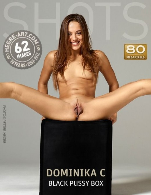 Dominika C - `Black Pussy Box` - by Petter Hegre for HEGRE-ART