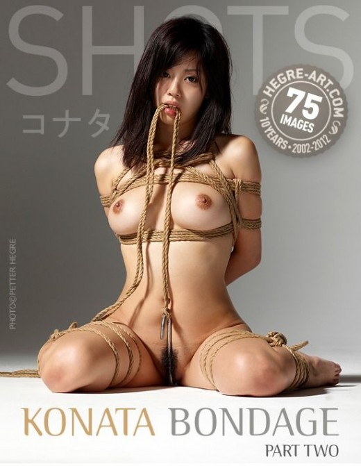 Konata - `Bondage - Part Two` - by Petter Hegre for HEGRE-ART