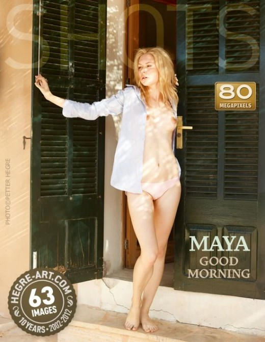 Maya - `Good Morning` - by Petter Hegre for HEGRE-ART