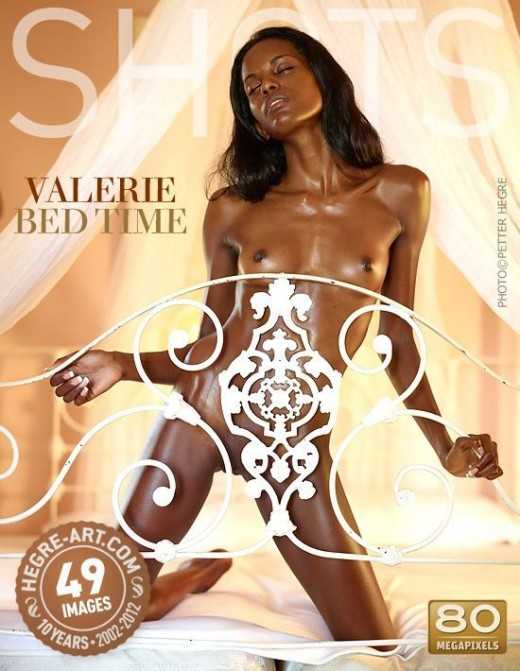 Valerie - `Bed Time` - by Petter Hegre for HEGRE-ART