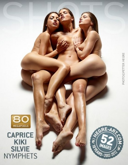 Caprice & Kiki & Silvie - `Nymphets` - by Petter Hegre for HEGRE-ART