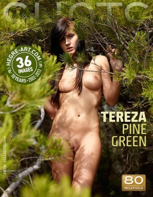 Tereza - `Pine Green` - by Petter Hegre for HEGRE-ART