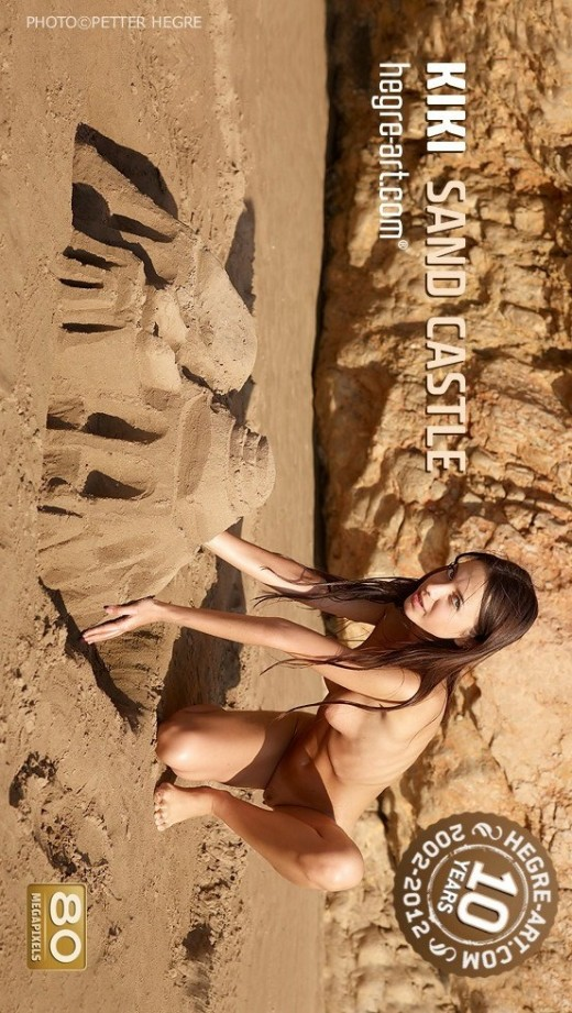 Kiki - `Sand Castle` - by Petter Hegre for HEGRE-ART