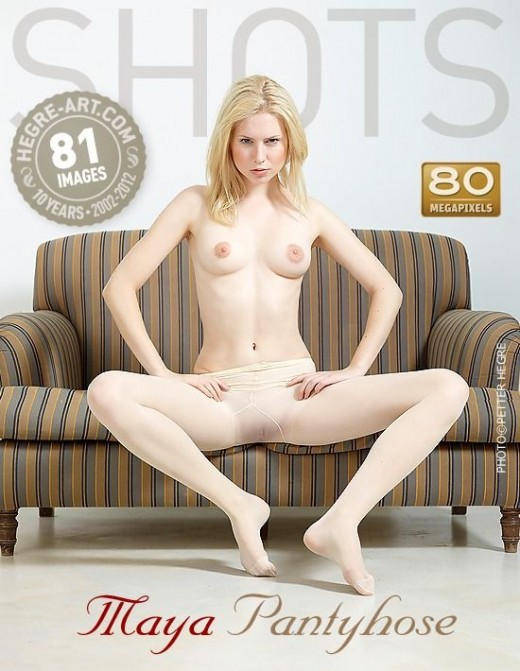 Maya - `Pantyhose` - by Petter Hegre for HEGRE-ART