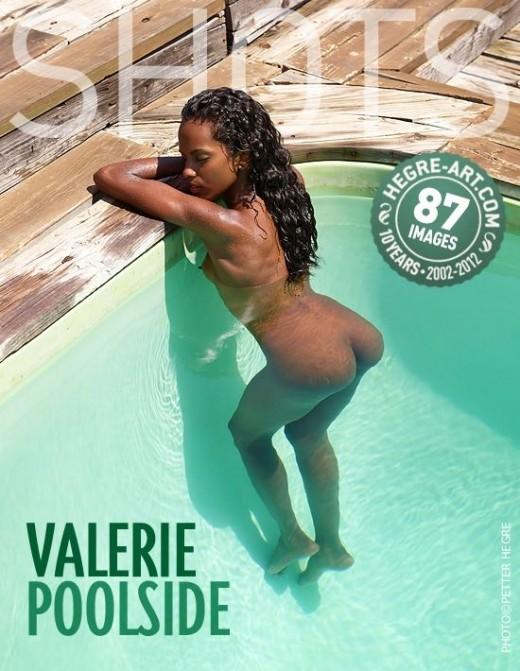 Valerie - `Poolside` - by Petter Hegre for HEGRE-ART