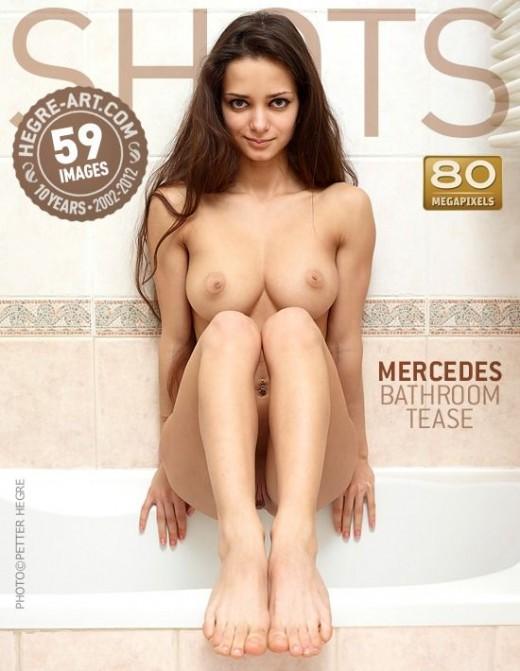 Mercedes - `Bathroom Tease` - by Petter Hegre for HEGRE-ART