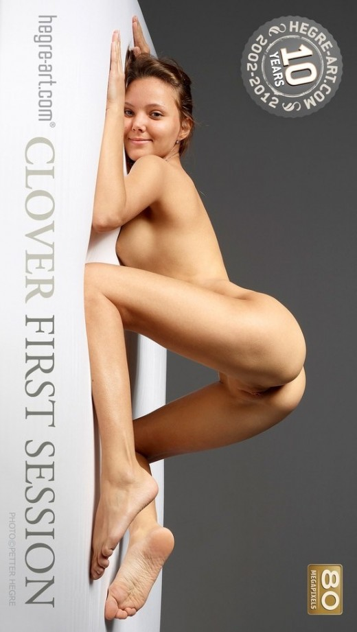 Clover - `First Session` - by Petter Hegre for HEGRE-ART