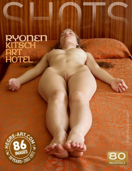 Ryonen - `Kitsch Art Hotel` - by Petter Hegre for HEGRE-ART
