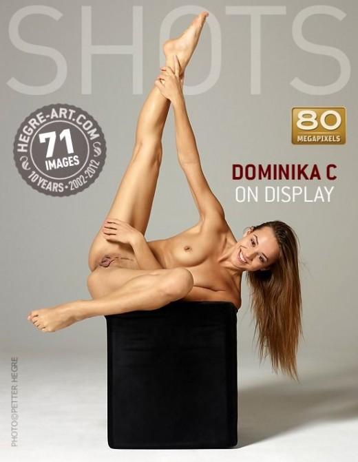 Dominika C - `On Display` - by Petter Hegre for HEGRE-ART