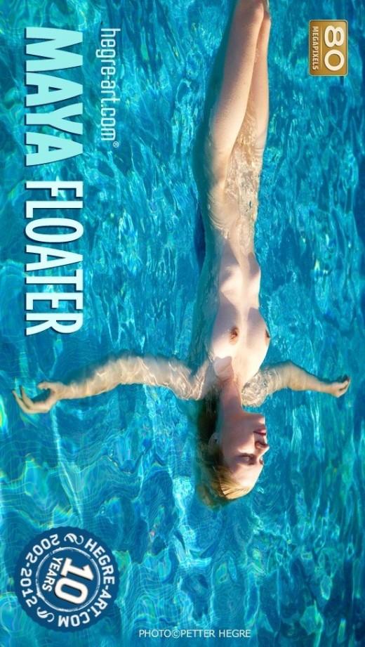 Maya - `Floater` - by Petter Hegre for HEGRE-ART