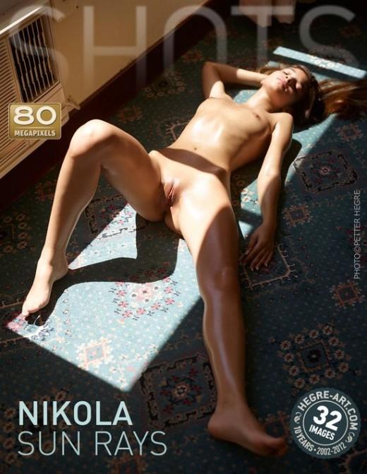 Nikola - `Sun Rays` - by Petter Hegre for HEGRE-ART