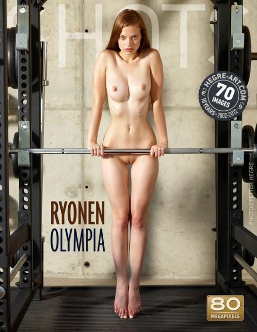 Ryonen - `Olympia` - by Petter Hegre for HEGRE-ART