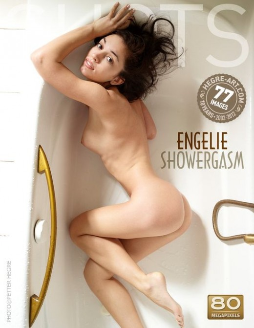Engelie - `Showergasm` - by Petter Hegre for HEGRE-ART