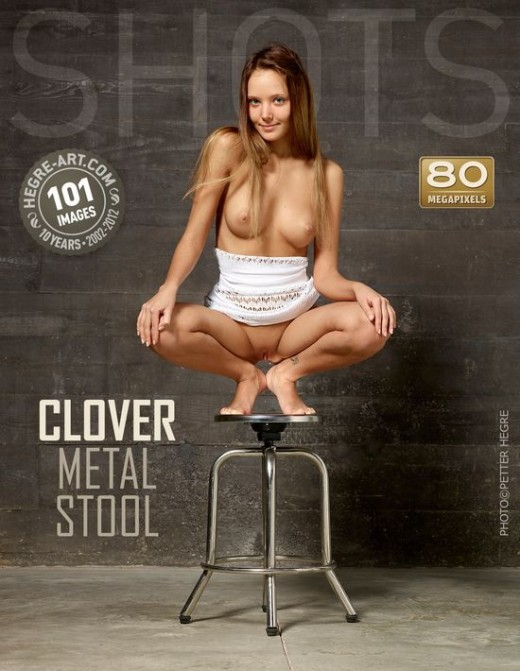 Clover - `Metal Stool` - by Petter Hegre for HEGRE-ART