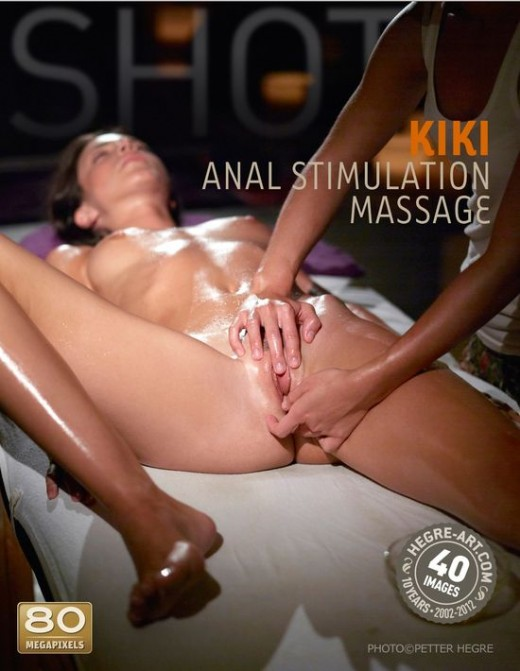 Kiki - `Anal Stimulation Massage` - by Petter Hegre for HEGRE-ART