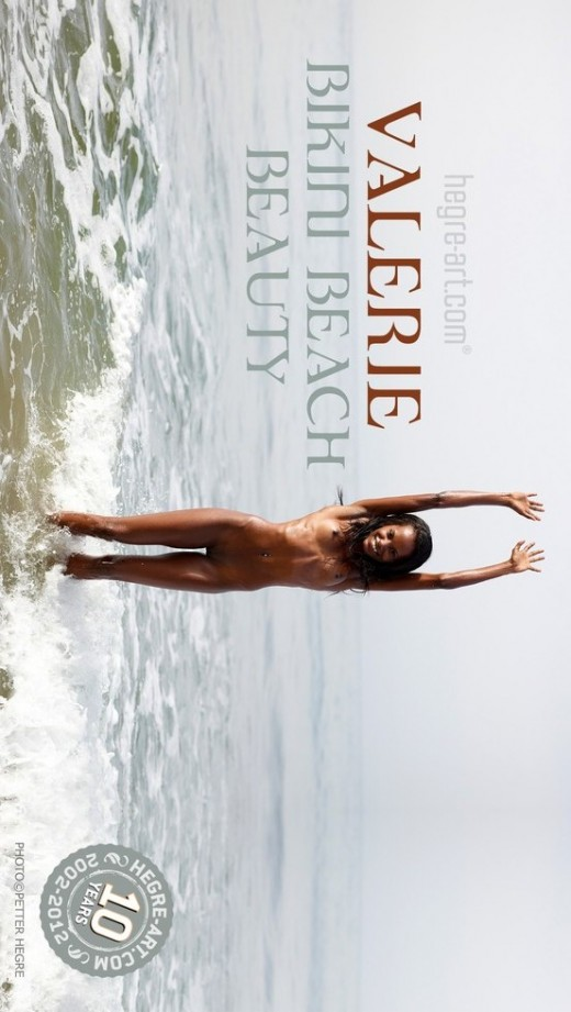 Valerie - `Bikini Beach Beauty` - by Petter Hegre for HEGRE-ART