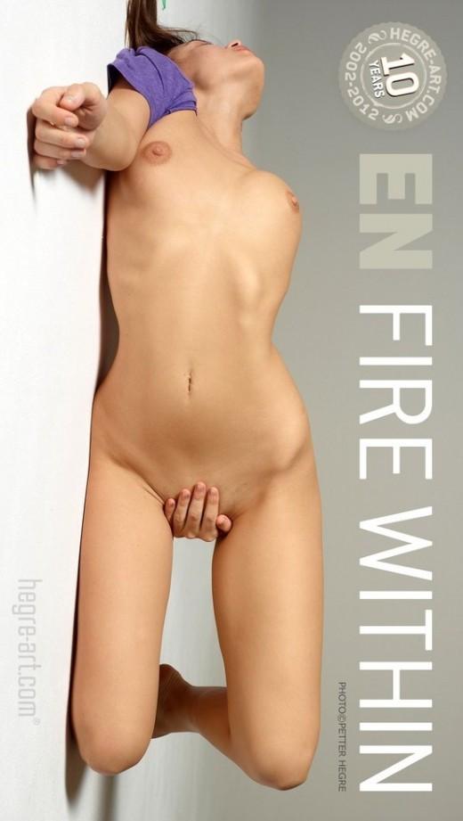 En - `Fire Within` - by Petter Hegre for HEGRE-ART
