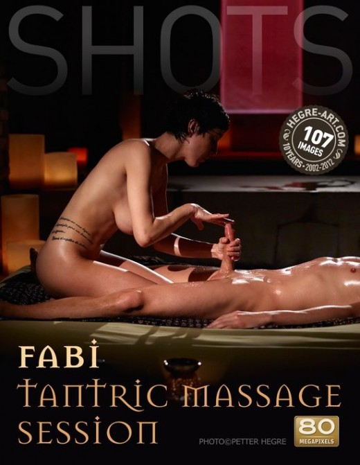 Fabi - `Tantric Massage Session` - by Petter Hegre for HEGRE-ART