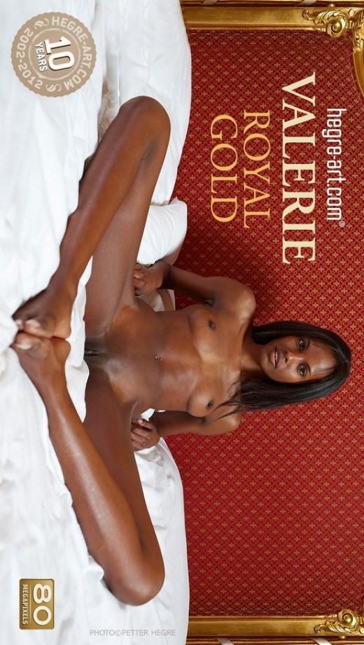 Valerie - `Royal Gold` - by Petter Hegre for HEGRE-ART