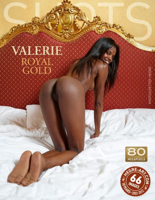 Valerie - `Royal Gold` - by Petter Hegre for HEGRE-ART