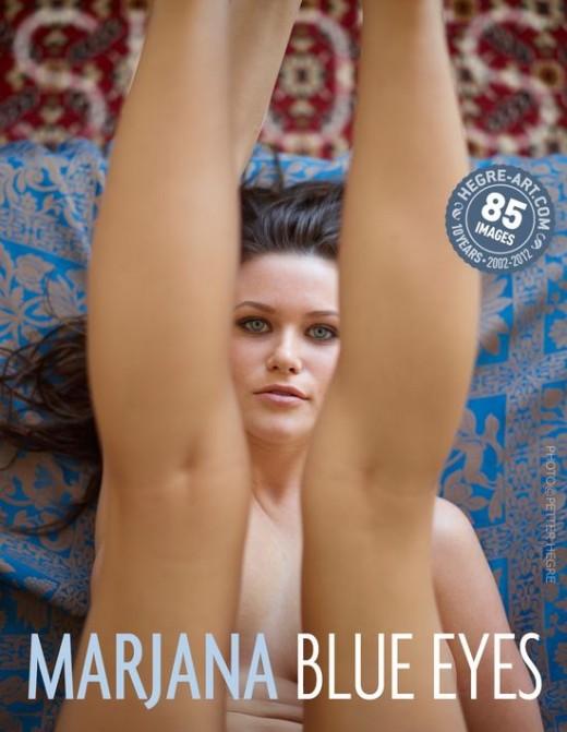 Marjana - `Blue Eyes` - by Petter Hegre for HEGRE-ART
