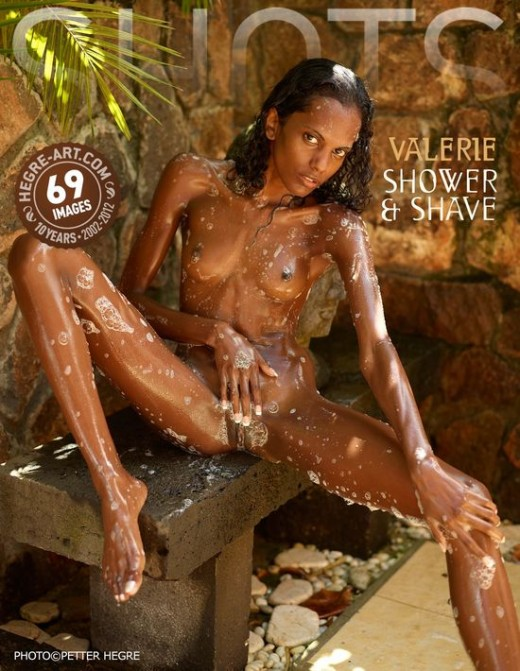 Valerie - `Shower & Shave` - by Petter Hegre for HEGRE-ART