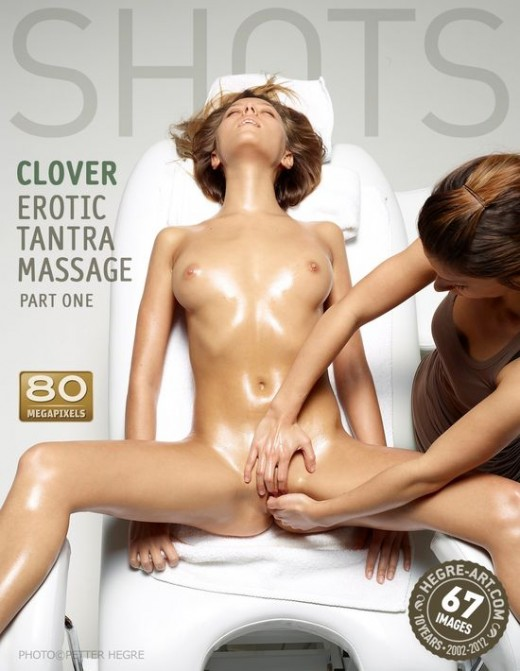 Clover - `Erotic Tantra Massage - Part One` - by Petter Hegre for HEGRE-ART