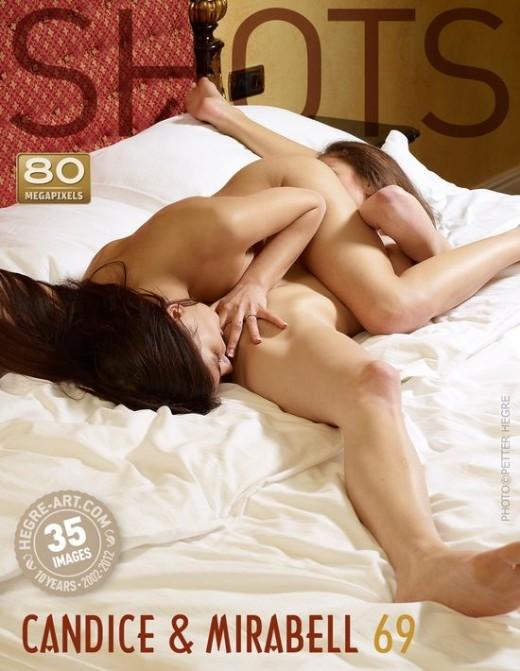 Candice & Mirabell - `69` - by Petter Hegre for HEGRE-ART