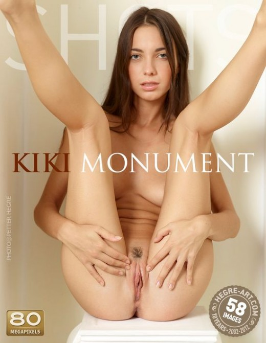 Kiki - `Monument` - by Petter Hegre for HEGRE-ART