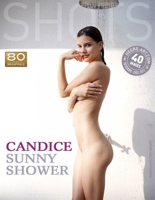 Candice - `Sunny Shower` - by Petter Hegre for HEGRE-ART