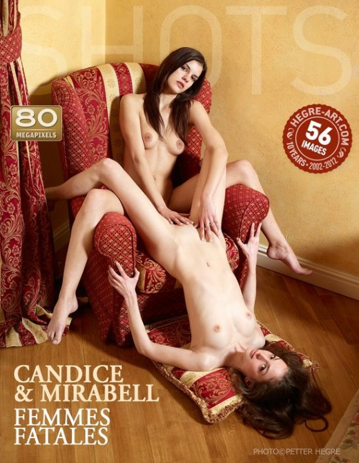 Candice & Mirabell - `Femmes Fatales` - by Petter Hegre for HEGRE-ART