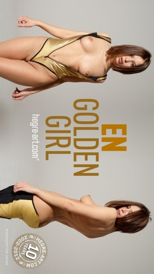 En - `Golden Girl` - by Petter Hegre for HEGRE-ART