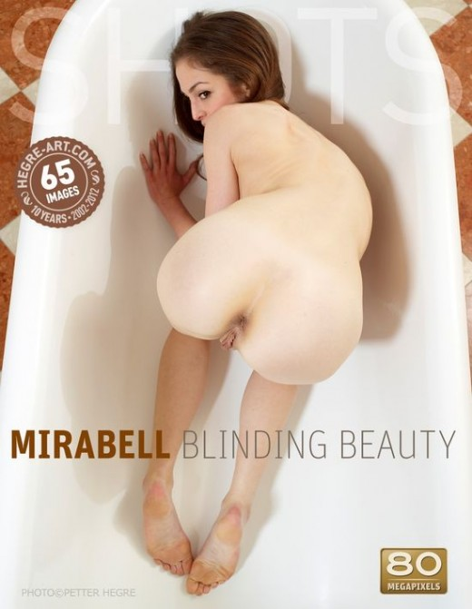 Mirabell - `Blinding Beauty` - by Petter Hegre for HEGRE-ART