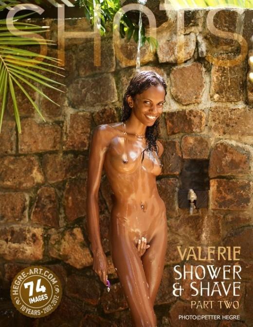 Valerie - `Shower & Shave - Part Two` - by Petter Hegre for HEGRE-ART